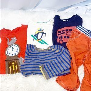 Baby Boden Long Sleeved T-shirt Winter Lot 18-24